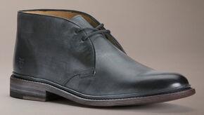 Frye James Chukka Shoes, Black, hi-res