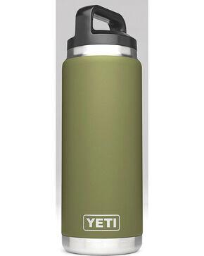 Yeti Olive Green 26 oz. Bottle Rambler , Olive, hi-res