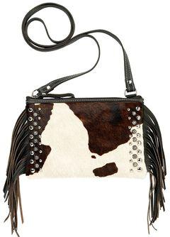 American West Chaps Fringed Crossbody Bag, , hi-res
