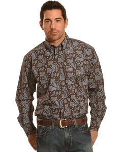 Ariat Pro Series Reeve Classic Fit Poplin Western Shirt , , hi-res