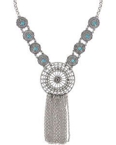 Shyanne Women's Dream Catcher Necklace , , hi-res