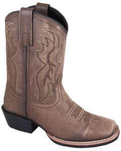 Smoky Mountain Boys' Gallup Western Boots - Square Toe, , hi-res