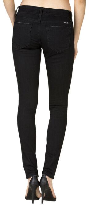 Miss Me Women's Black Mid-Rise Skinny Jeans - Extended Sizes , Black, hi-res