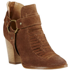Ariat Women's Brown Unbridled Jaelle Tumbled Booties, , hi-res