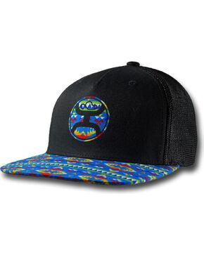 Hooey Men's Delirium Multicolored Baseball Cap , Black, hi-res