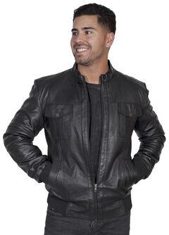 Scully Men's Black Lamb Jacket, , hi-res