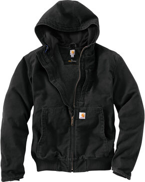 Carhartt Men's Full Swing Armstrong Active Jacket - Big & Tall, Black, hi-res