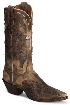 Dan Post Anthem Cross Vintage Cowgirl Boot - Snip Toe, , hi-res