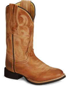 Smoky Mountain Youth Showdown Cowboy Boots - Round Toe , , hi-res