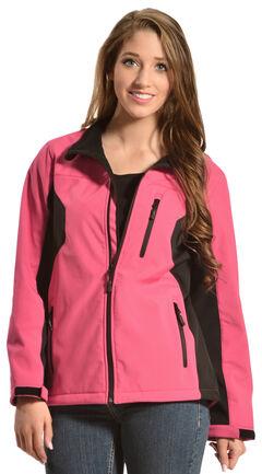 Red Ranch Women's Bonded Hot Pink Jacket, , hi-res