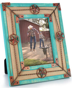 BB Ranch Distressed Lonestar Picture Frame, No Color, hi-res