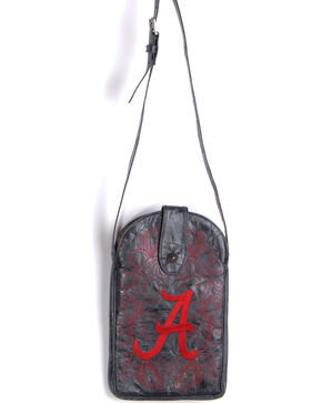 Gameday Boots University of Alabama Crossbody Bag, Black, hi-res
