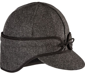 Stormy Kromer Men's Charcoal The Rancher Cap, Charcoal Grey, hi-res
