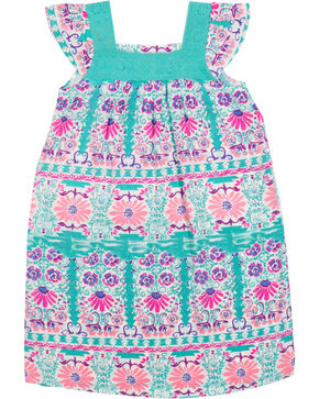 Shyanne Girl's Floral & Lace Sleeveless Dress, Multi, hi-res