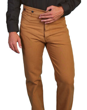 Wahmaker by Scully Canvas Pants, Brown, hi-res