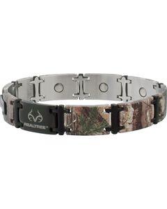 Sabona Realtree Camo Black Magnum Magnetic Bracelet, , hi-res