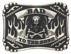 AndWest Men's Bad to the Bone Belt Buckle, , hi-res