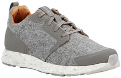 Ariat Women's Grey Suede Fusion Athletic Shoes, , hi-res