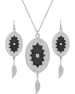 Montana Silversmiths Women's Starry Nights Dream Jewelry Set, Silver, hi-res