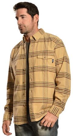 Woolrich Tiadaghton Tan Plaid Shirt, , hi-res