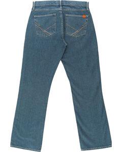 Wrangler Men's Blue 20X FR Cool Vantage Vintage Jeans - Slim fit, , hi-res