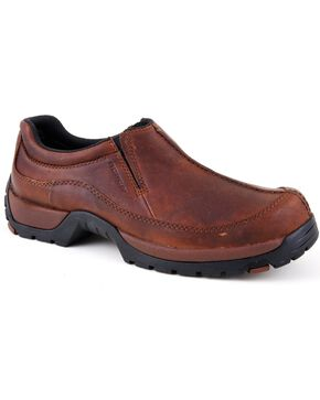 Roper Performance Lite Slip-On Casual Shoes, Redwood, hi-res