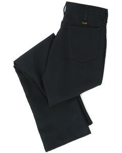 Wrangler Jeans - Wrancher Solid Regular Fit Stretch - Big, Dark Green, hi-res