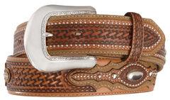 Tony Lama Classic Country Western Belt, , hi-res