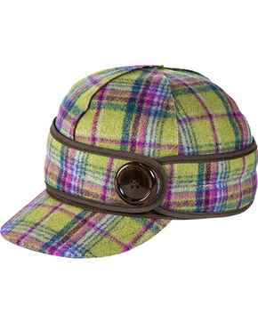 Stormy Kromer Women's Aurora Plaid The Button Up Cap, Multi, hi-res