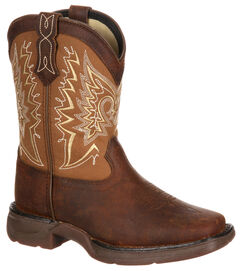 Lil' Durango Boys' Let Love Fly Western Boots - Square Toe, , hi-res