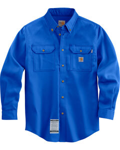 Carhartt Flame Resistant Work-Dry® Twill Long Sleeve Shirt - Big & Tall, , hi-res