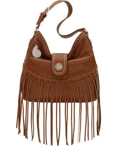 Bandana by American West Brown Rio Rancho Hobo Shoulder Bag , , hi-res
