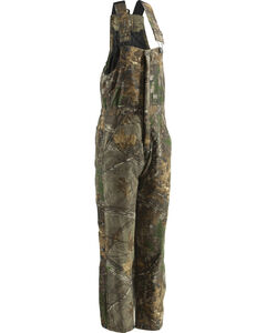 Berne Realtree Camo Coldfront Bib Overalls - Short Sizes, , hi-res