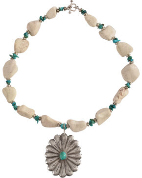 Julie Rose True Turquoise Necklace, Natural, hi-res
