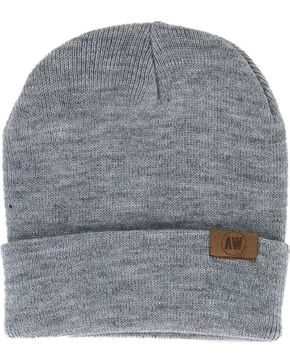 American Worker Knit Beanie, Light Grey, hi-res