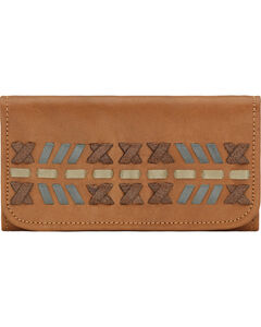 American West Mohican Melody Collection Tri-Fold Wallet, , hi-res