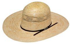 Twister Bangora Open Crown Straw Cowboy Hat, , hi-res