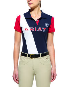 Ariat Women's Taryn Team Polo, , hi-res