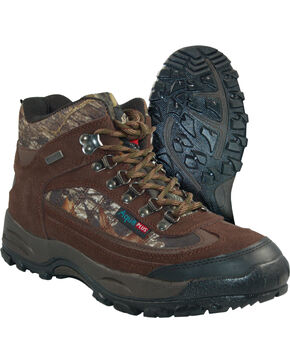 Itasca Men's Heritage Hunting Hiking Boots - Round Toe, Camouflage, hi-res