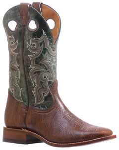 Boulet Turqueza Shoulder Cowboy Boots - Square Toe , , hi-res