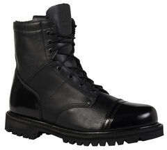 Rocky Men's Side Zipper Paraboot Duty Boots, , hi-res