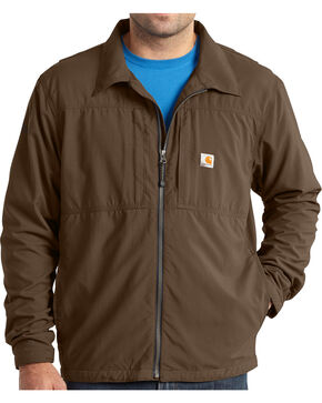 Carhartt Men's Full Swing Briscoe Jacket - Big & Tall, Dark Brown, hi-res