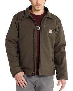 Carhartt Men's Bark Quick Duck Livingston Jacket - Big & Tall , , hi-res