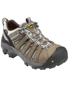 Keen Women's Flint Low Work Shoes - Steel Toe, , hi-res