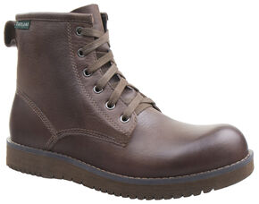 Eastland Men's Dark Tan Adrian Plain Toe Boots, Tan, hi-res
