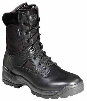 """5.11 Tactical Men's A.T.A.C. 8"""" Storm Boots, Black, hi-res"""