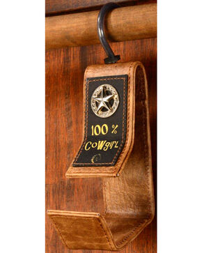 Phunky Horse 100% Cowgirl Hat Hanger, Brown, hi-res