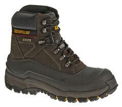 Caterpillar Men's Flexshell Waterproof Work Boots - Steel Toe, , hi-res