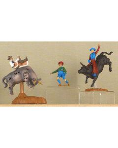 M&F Big Time Rodeo Bull Rider Rodeo Toy Set, Multi, hi-res