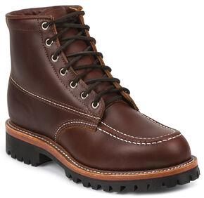 Chippewa Men's 1975 Original Tan Insulated Trekker Mountaineer Boots - Moc Toe, Tan, hi-res